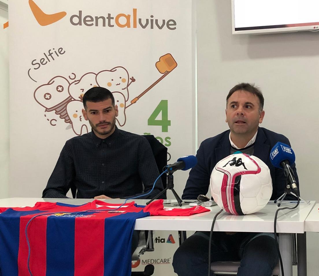 Javi Álamo, nuevo  jugador del Extremadura UD