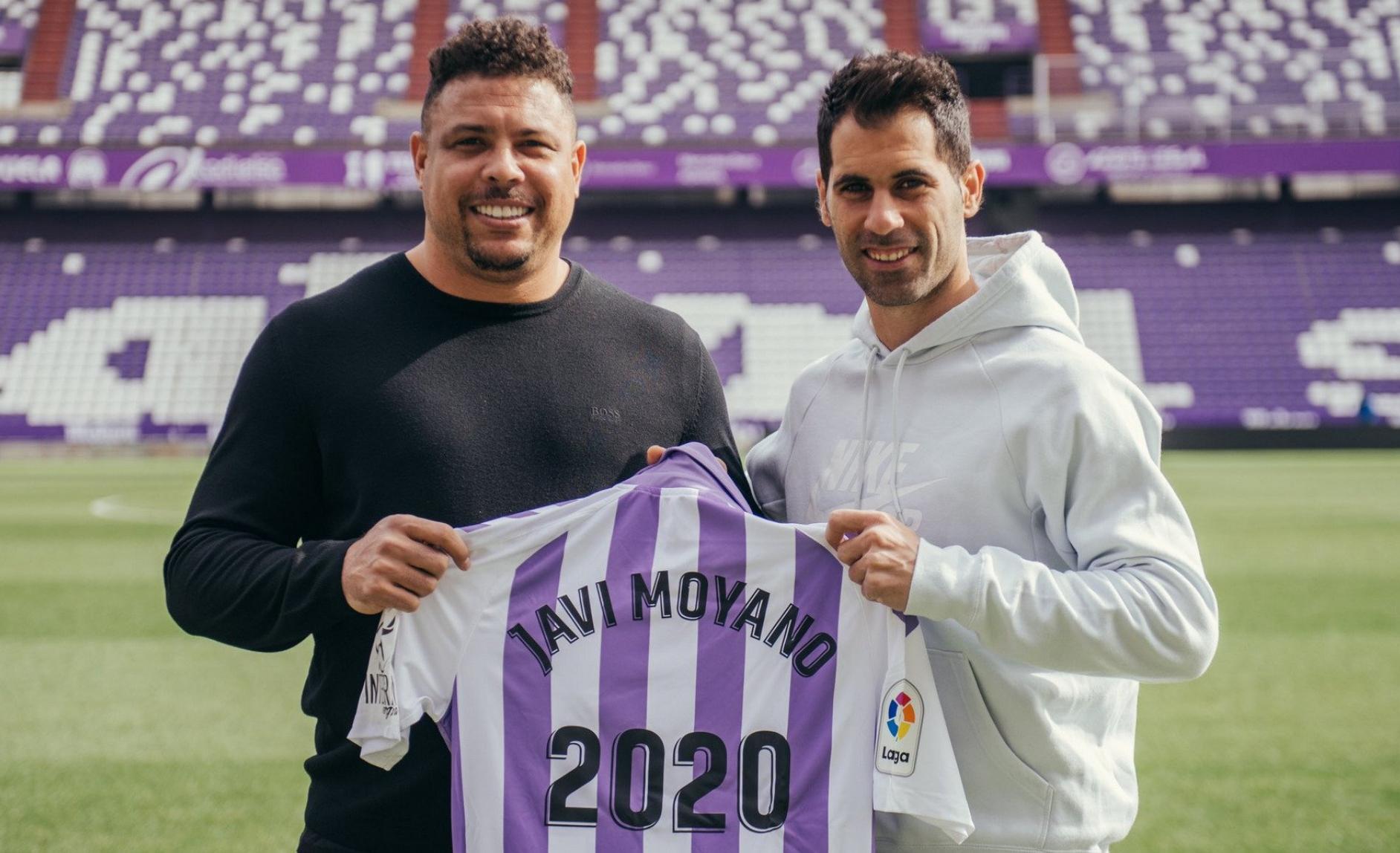 Javi Moyano renueva con el Real Valladolid hasta 2020